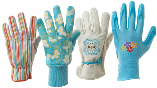 Style Selections Women's Large-Multicolor Leather Garden Gloves