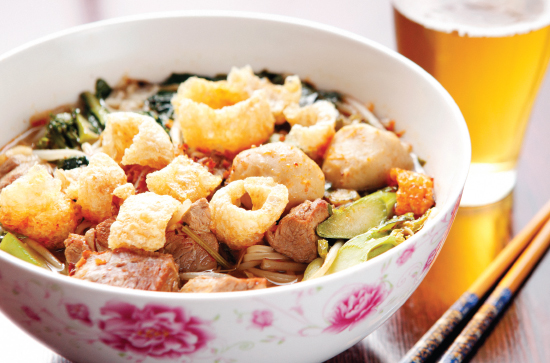 Pork noodle soup from Elephant Jumps (Photography by Jonathan Timmes)