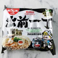 Nissin Ramen Black Garlic Oil Tonkotsu