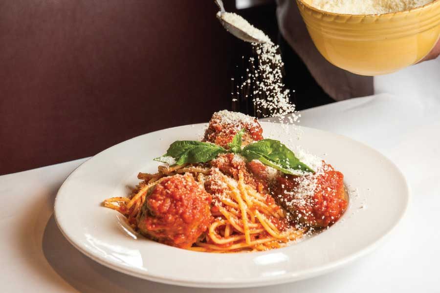 Revel in the comfort of carbs at Ciao Osteria. (Photo by Rey Lopez)
