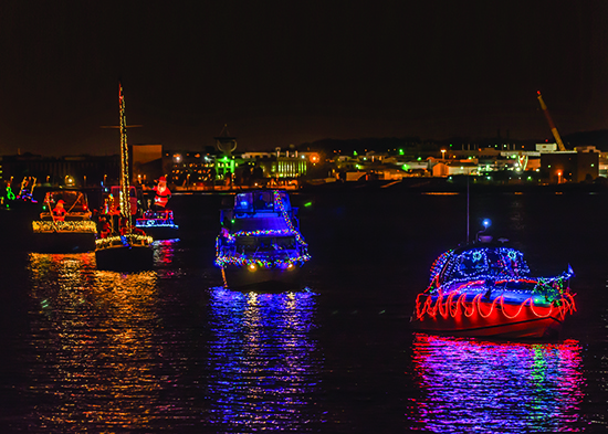 Alexandria Holiday Boat Parade of Lights