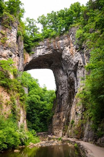 Natural Bridge / Photo courtesy of Zack Frank/Adobe Stock