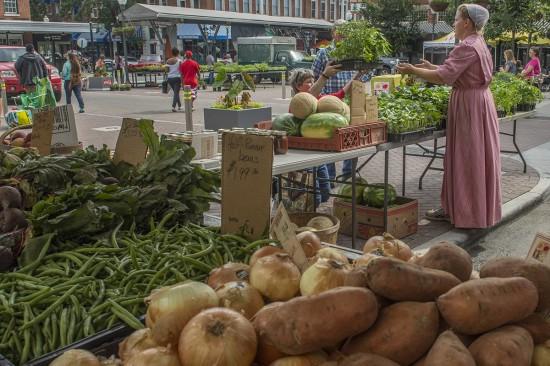 Historic Roanoke City Market / Photo courtesy of Don petersen, Downtown Roanoke, Inc.